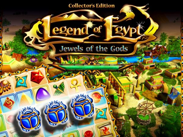 Legend of Egypt 3. Jewels of the Gods Collectors Edition