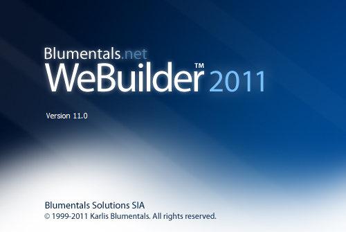 WeBuilder 2011 v11.0.0.125