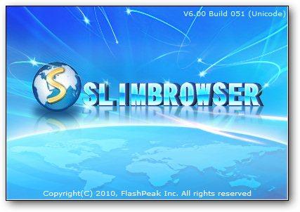 SlimBrowser 6.00 Build 051 Final