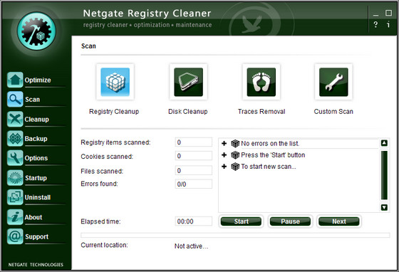 NETGATE Registry Cleaner 3.0.205.0