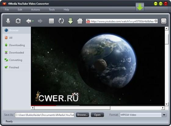 4Media YouTube Video Converter 3.2.0.0630