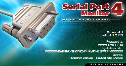 Serial Port Monitor 4.1 Build 4.1.2.293
