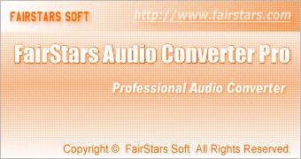 FairStars Audio Converter Pro 1.47