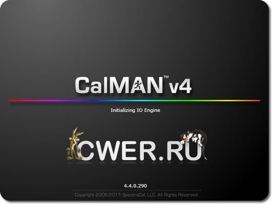 SpectraCal CalMAN 4.4.0.290