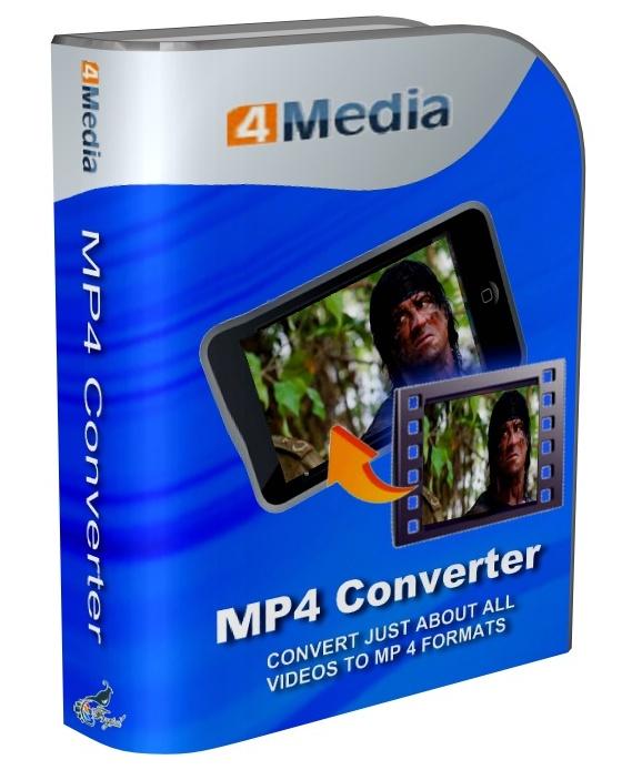 4Media MP4 Converter 6.5.8 build 0602