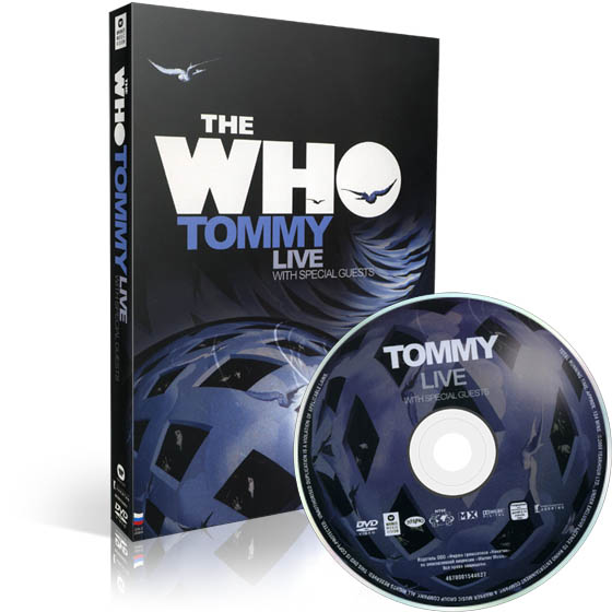 The Who. Tommy Live With Special Guests (1989) DVD-9
