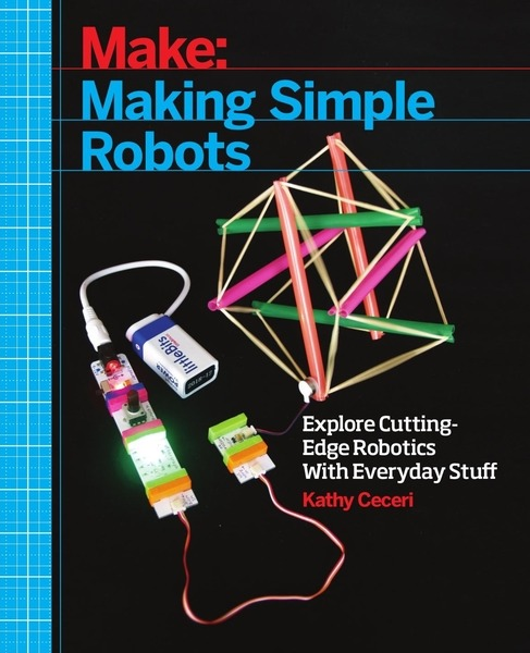 Kathy Ceceri. Making Simple Robots. Exploring Cutting-Edge Robotics with Everyday Stuff